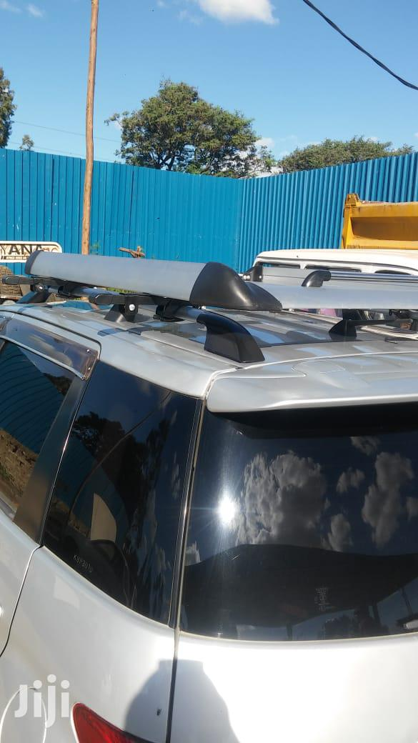 Archive: Aluminum Silver Roof Basket Car Roof Rack With Crossbars
