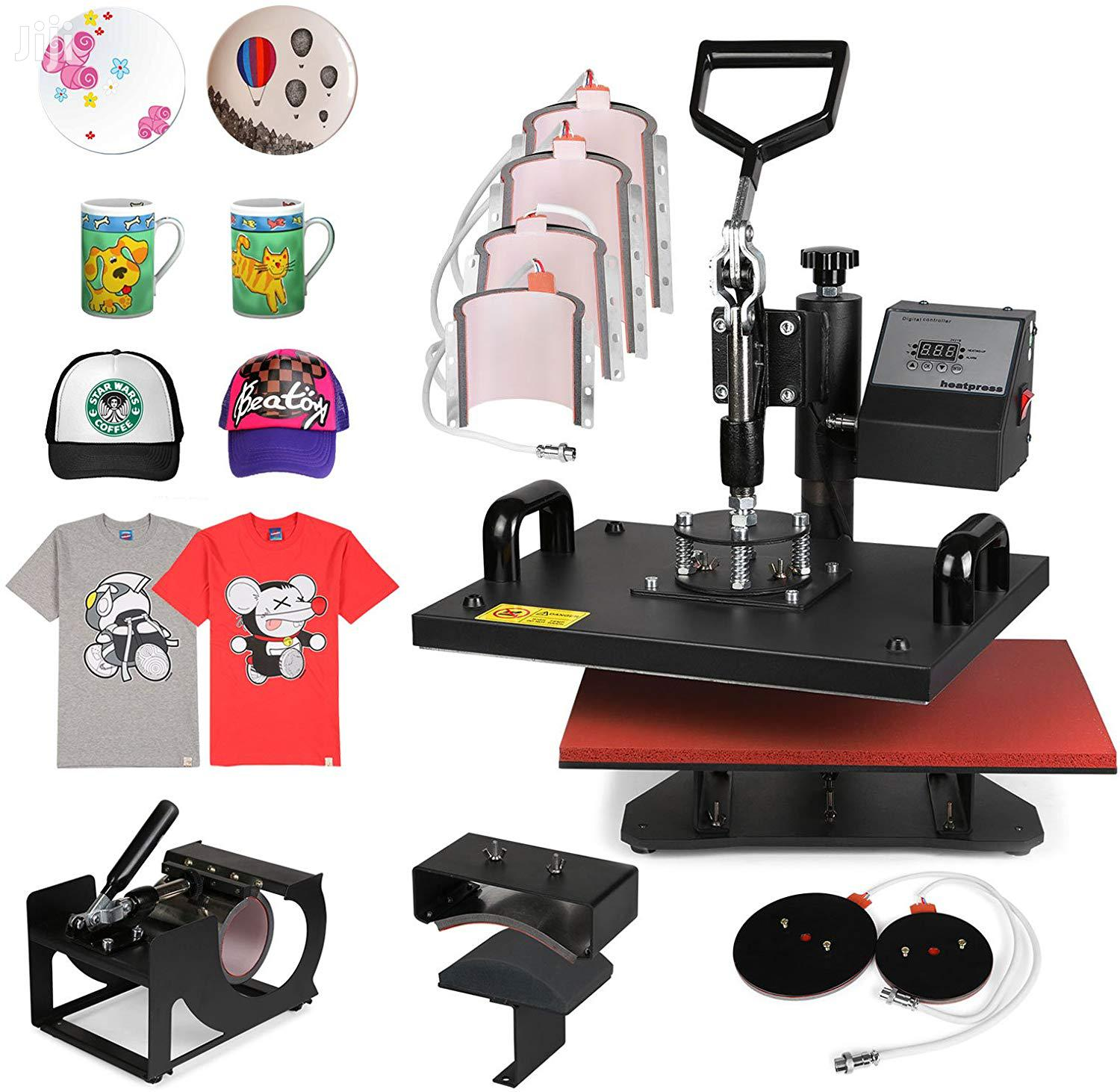 Archive: Heat Press T-shirt Mug Hat Plate Cap Heat Press Transfer Machine