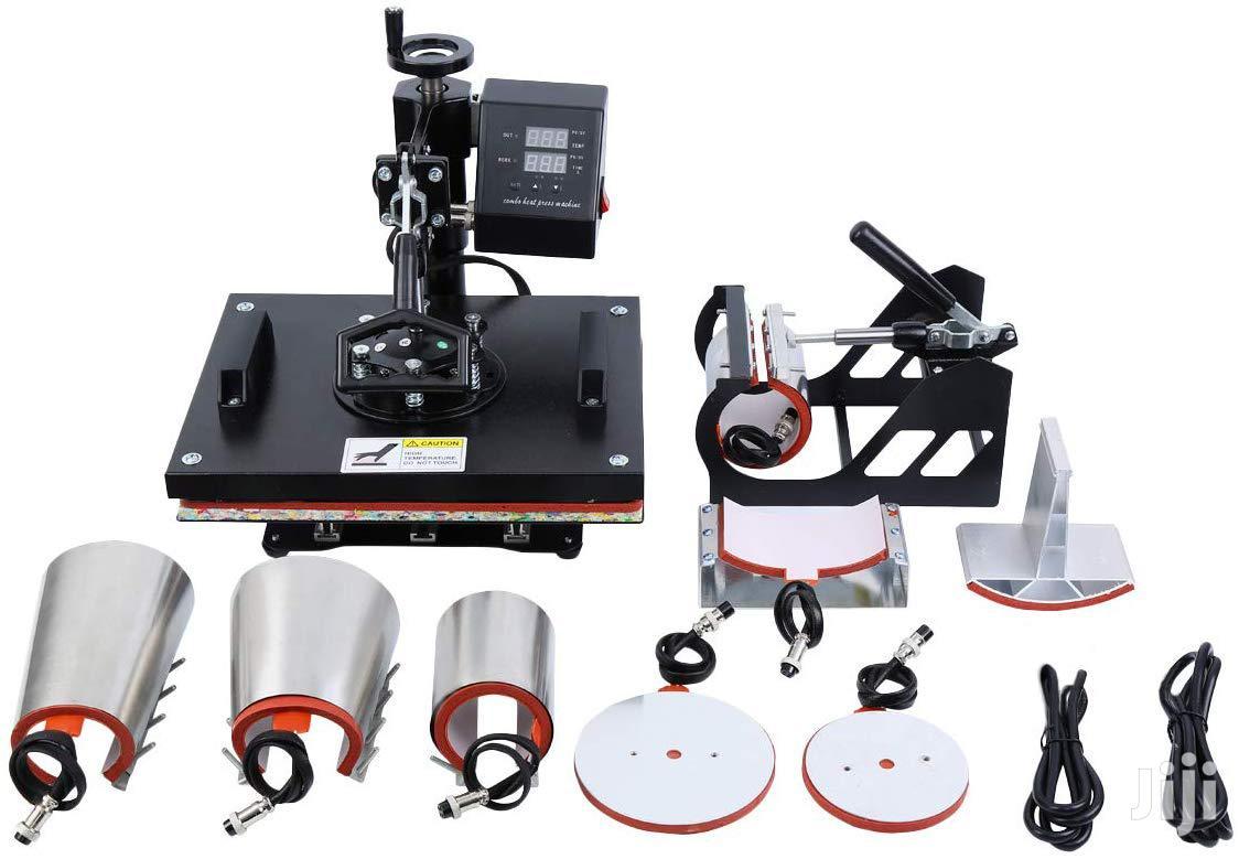 5 In 1 Combo Heat Press Machine | Printing Equipment for sale in Nairobi Central, Nairobi, Kenya
