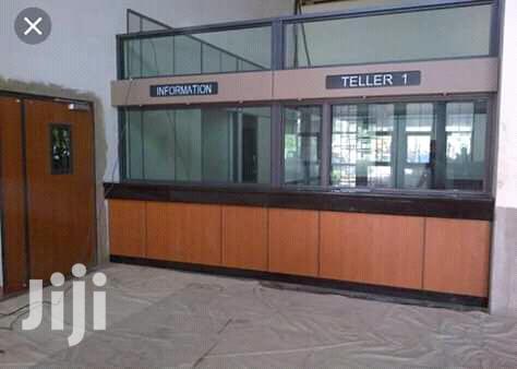 Aluminium Bank Partition