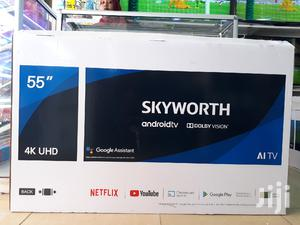 55 Inch Skyworth Smart Android 4K Uhd Tv | TV & DVD Equipment for sale in Nairobi, Nairobi Central