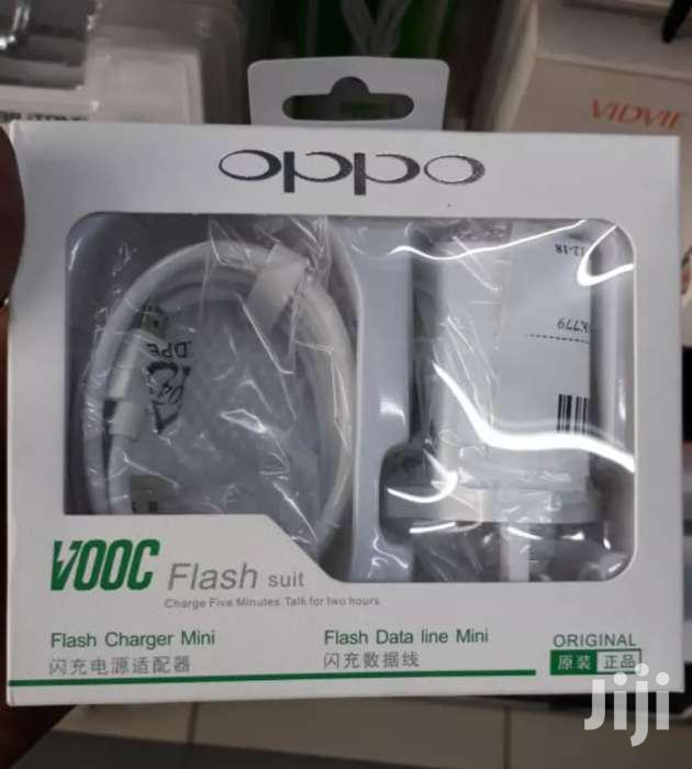CHARGER OPPO F9 F7 VOOC 4A FAST CHARGING ORIGINAL 1m MICRO USB Cable | Accessories for Mobile Phones & Tablets for sale in Nairobi Central, Nairobi, Kenya