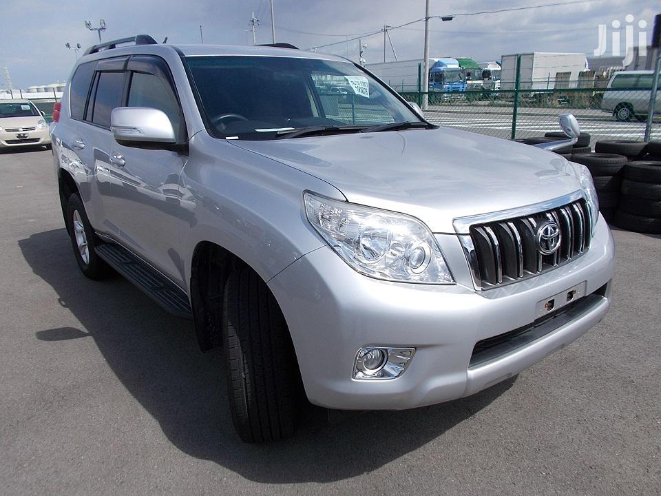 New Toyota Land Cruiser Prado 2012 Silver