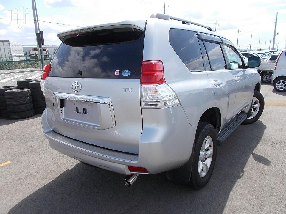 New Toyota Land Cruiser Prado 2012 Silver | Cars for sale in Tononoka, Mombasa, Kenya