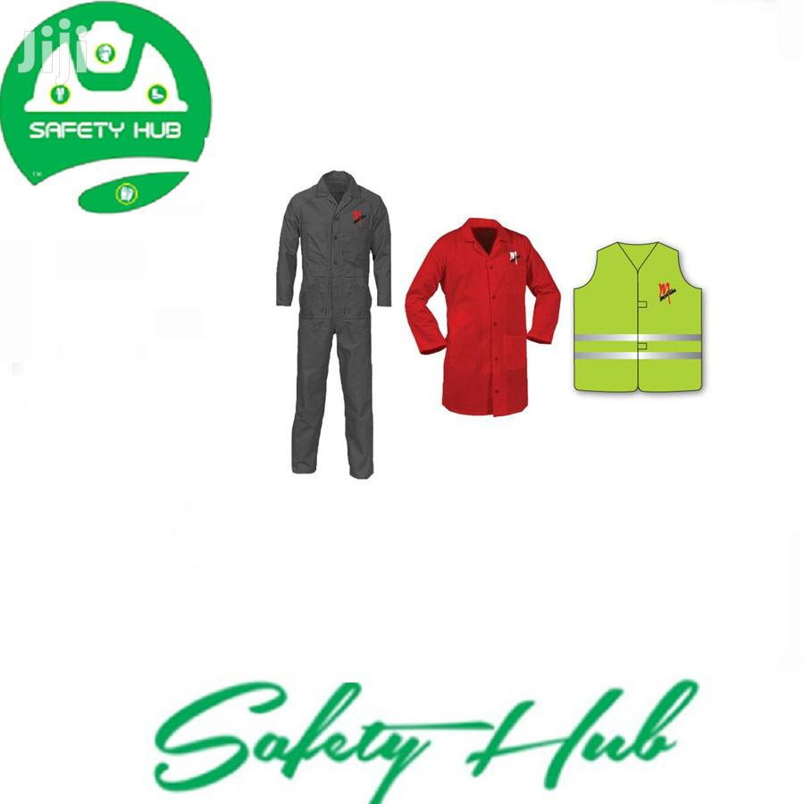 We Supply Branded Dust Coats & Overalls