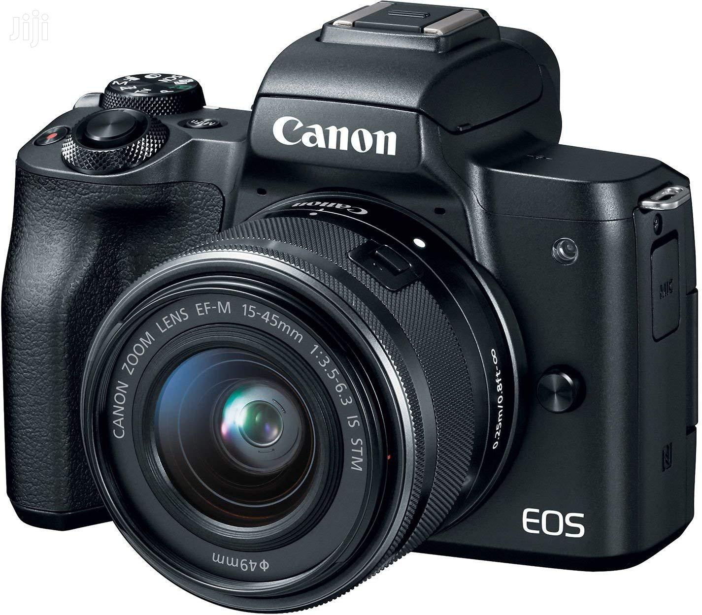 Canon EOS M50 Mirrorless Camera Kit W/Ef-M15-45mm and 4K Video