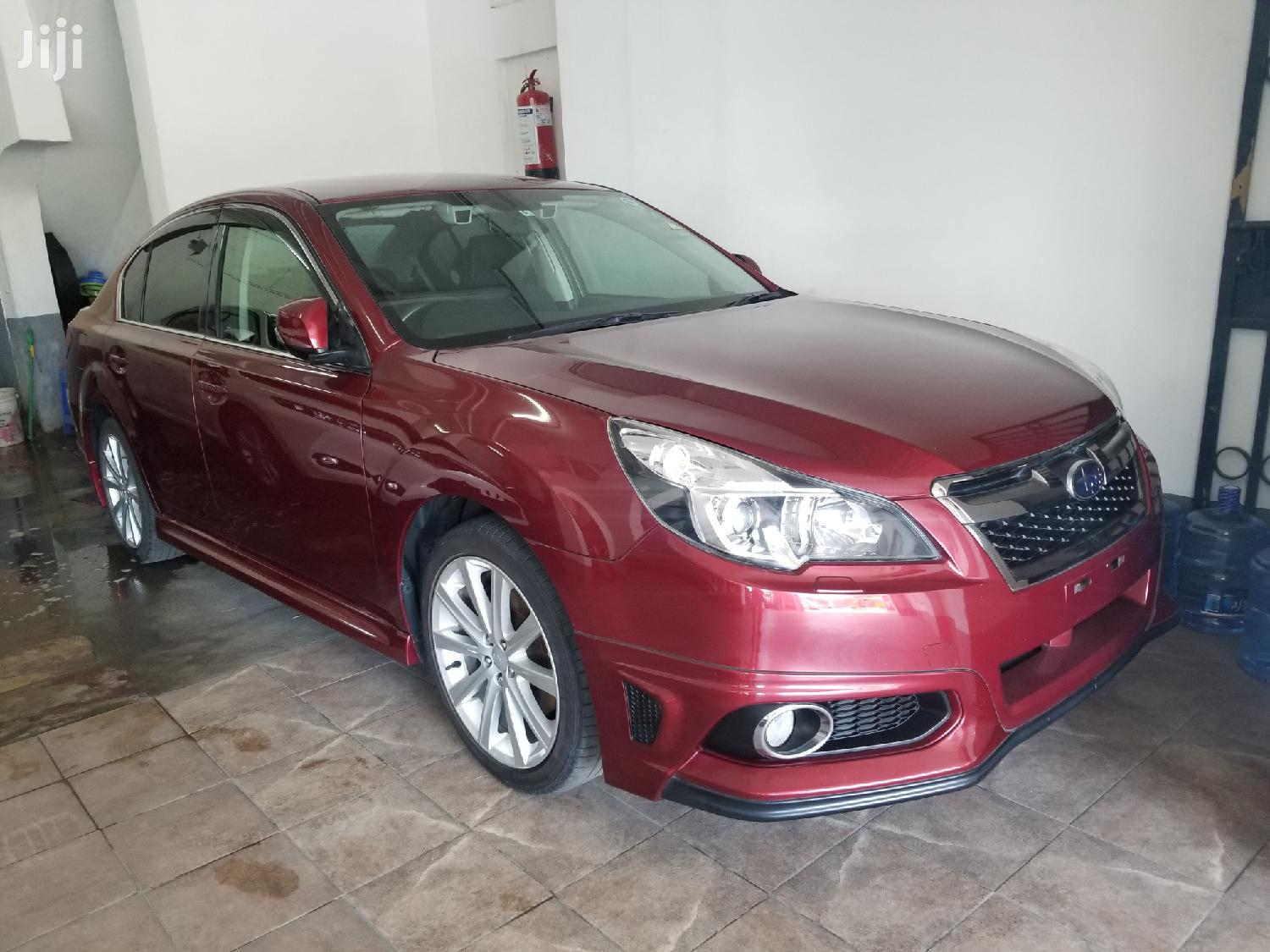 Archive: Subaru Legacy 2012 Red