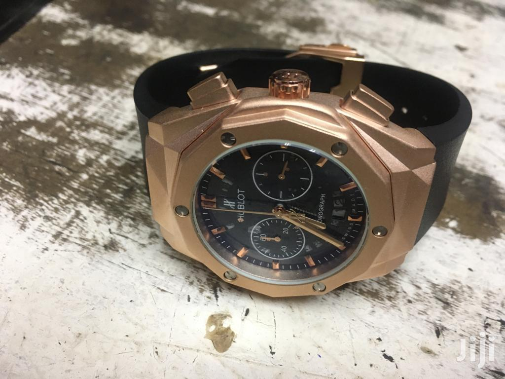 Rosegold Chronographe Quality Hublot | Watches for sale in Nairobi Central, Nairobi, Kenya