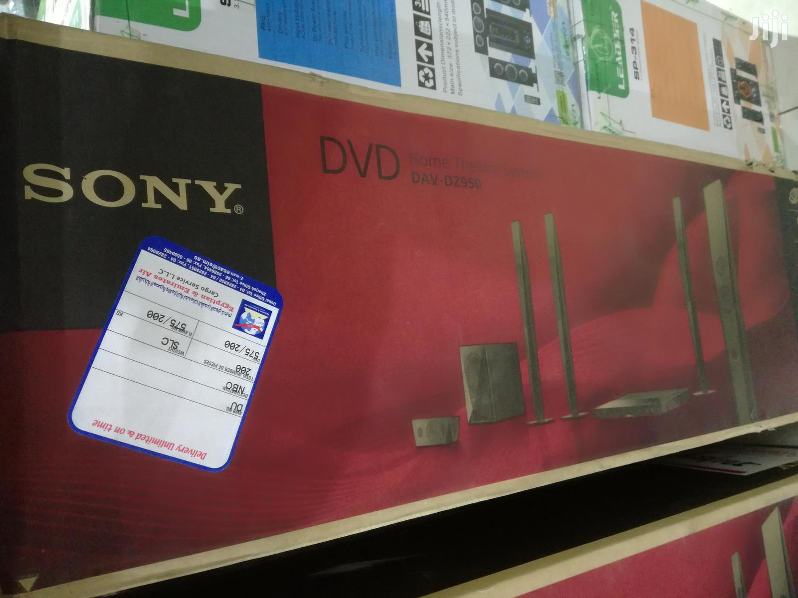 Archive: Sony DAV-DZ950 - 5.1ch DVD Home Theater System - 1000watts - Black
