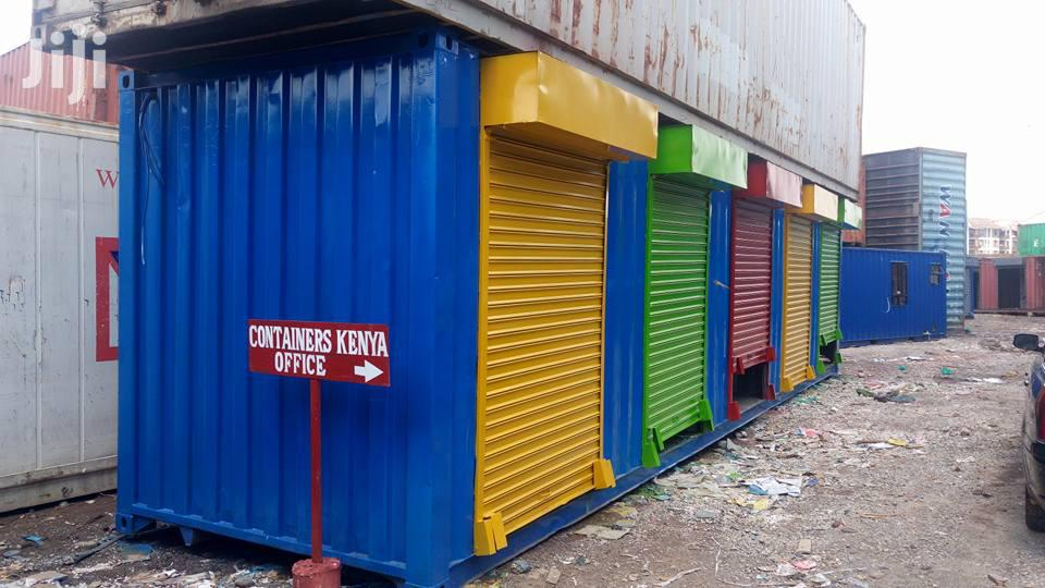 Archive: 40ft Business Shops/Stalls