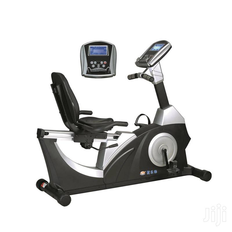 Gym Commercial Electric Recumbent Exercise Bike Spin Bikes