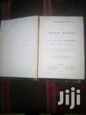 1890 Holy Bible   Books & Games for sale in Kwale, Ukunda