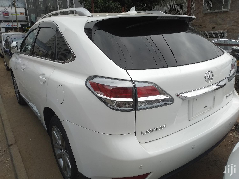 Archive: Lexus RX 2012 White