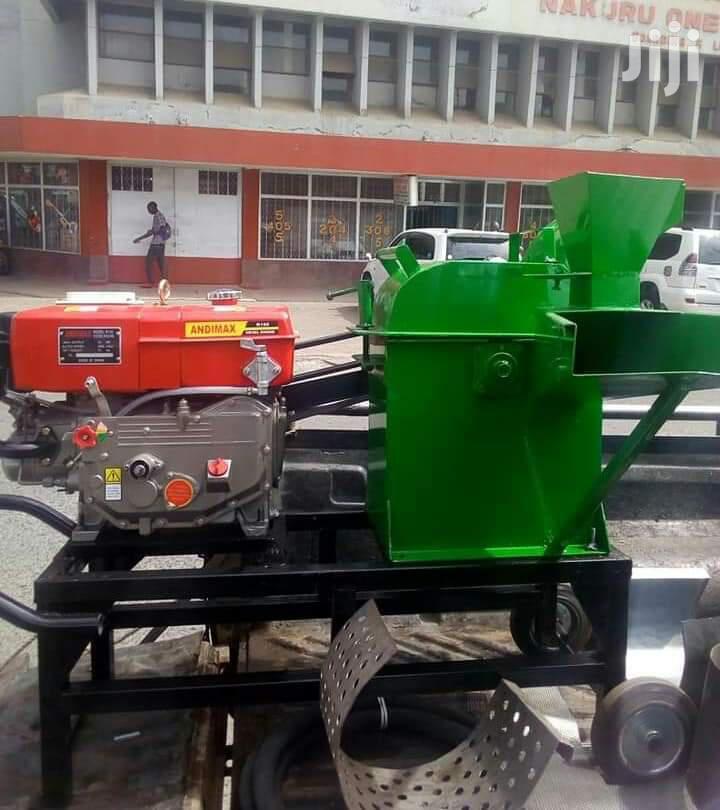 Chopper Machine Driven With 7.5hp Diesel Engine