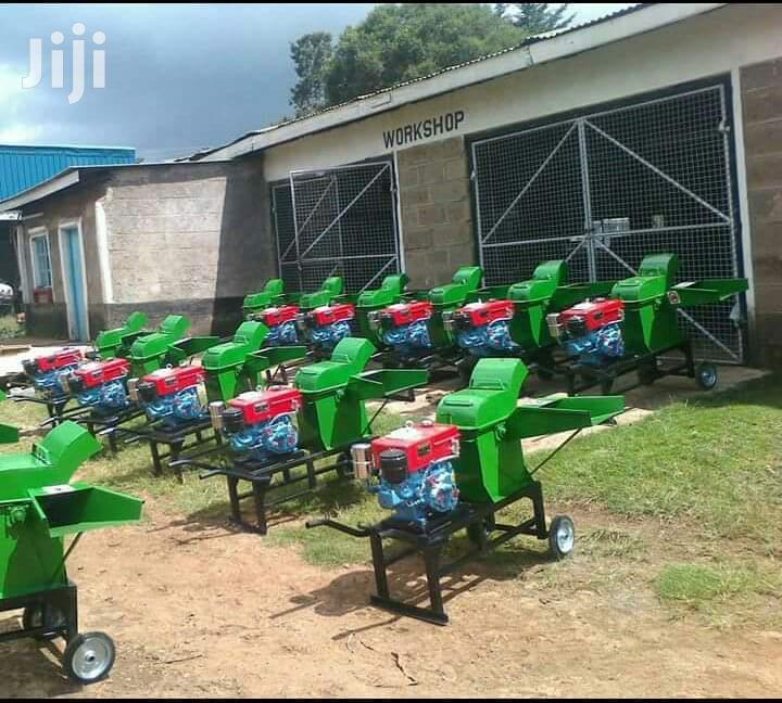 Chopper Machine Driven With 7.5hp Diesel Engine | Farm Machinery & Equipment for sale in Kitengela, Kajiado, Kenya