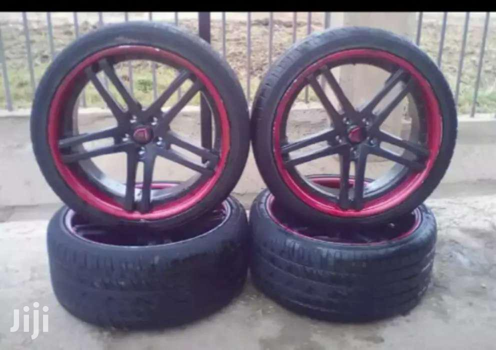 BMW Rims Size 22 With Tyres.