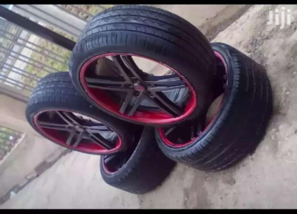 BMW Rims Size 22 With Tyres. | Vehicle Parts & Accessories for sale in Langata, Nairobi, Kenya