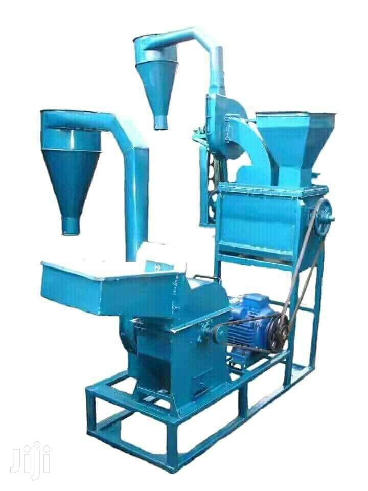 Combined Posho Mill Driven With 10hp Electric Motor
