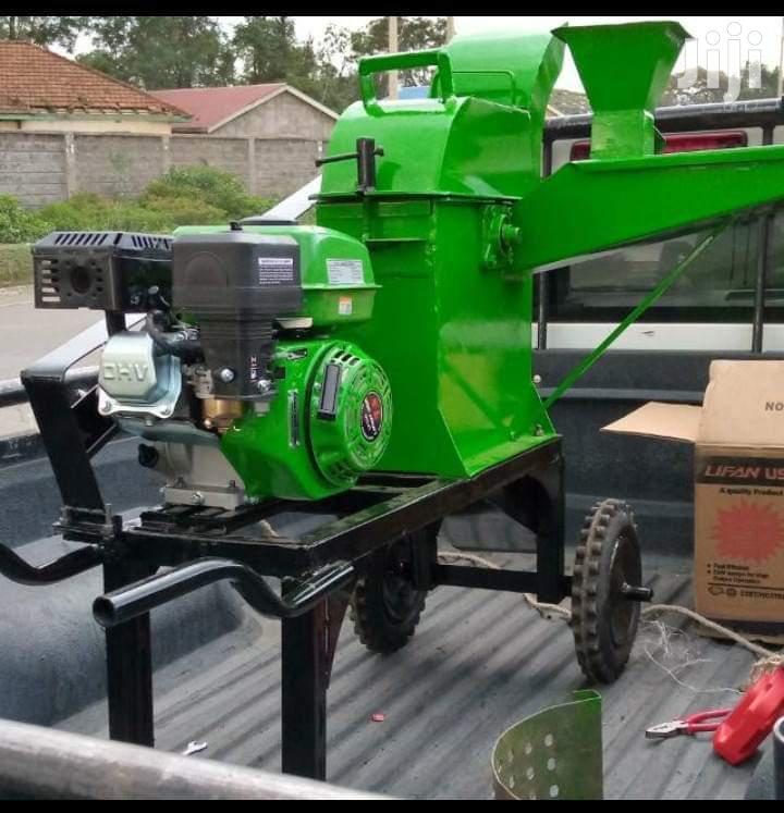 Petrol Engine Chopper Machine