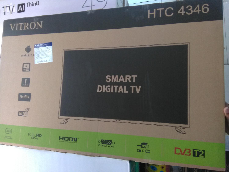 Vitron 43digital Smart Tv Wifi | TV & DVD Equipment for sale in Nairobi Central, Nairobi, Kenya