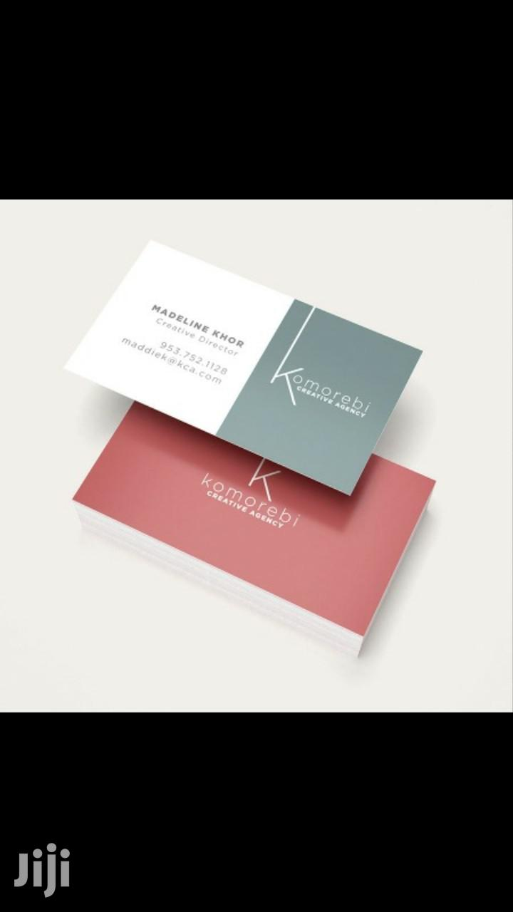 Archive: Business Cards & Printing
