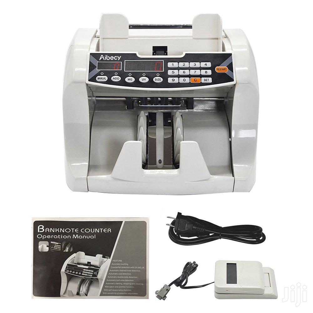 Money Counter Bill Counting Machine LCD Screen Display ...