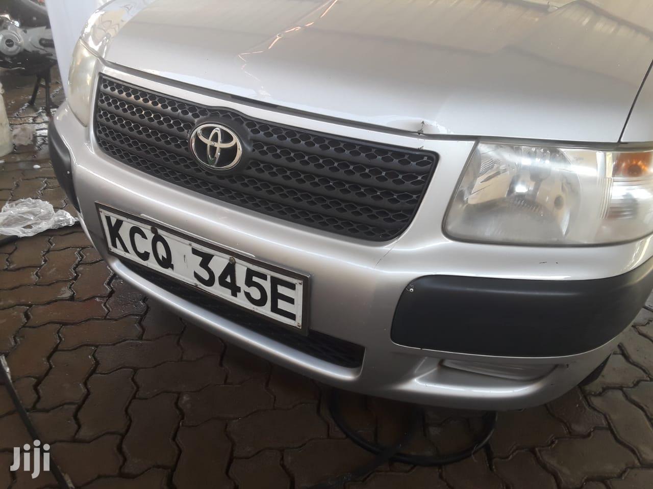 Archive: Toyota Probox 2012 Silver