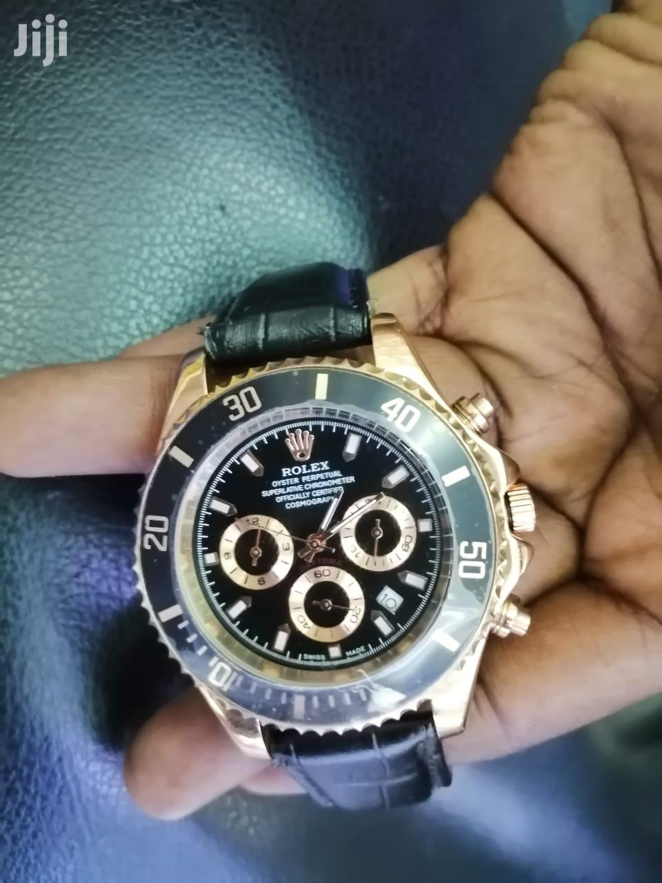 Quality Black Rolex Chronographe