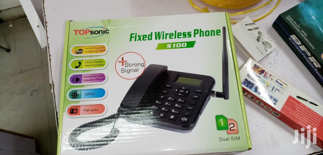 Archive: Topsonic Deskphone Gsm Phone Desk Phone