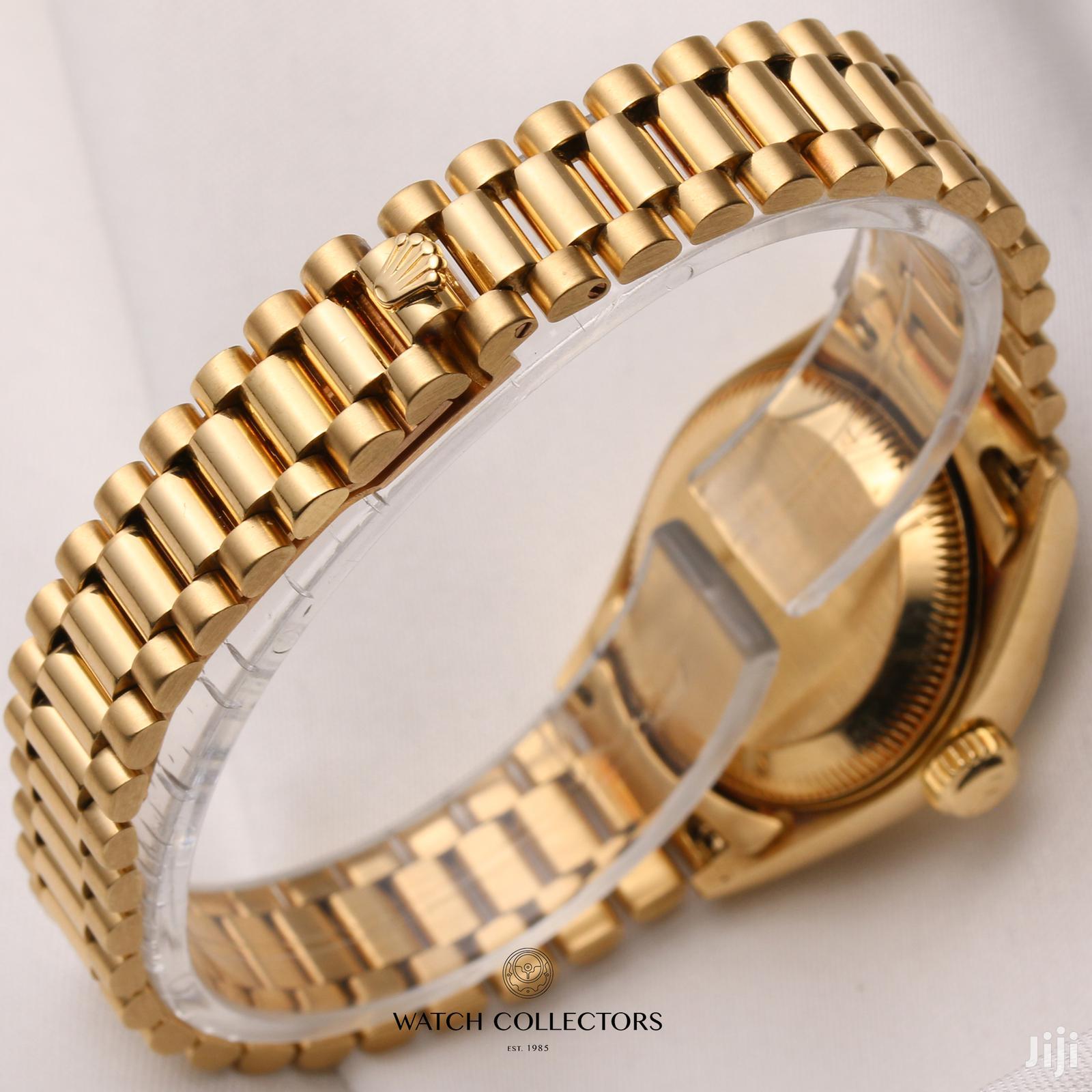Rolex Red Diamond Fashionable Watch