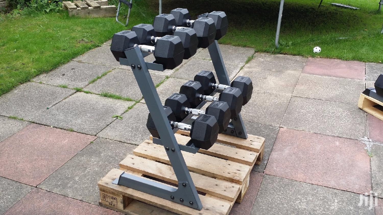 Fitness Hex Dumbbells