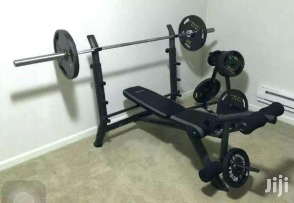 Archive: New Weight Benches With Weights