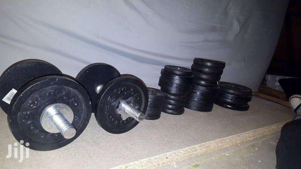 Archive: Durable Cast Iron Weights And Barbells