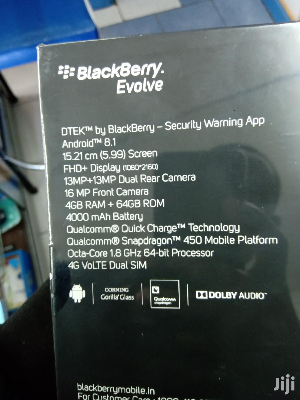 Archive: New BlackBerry Evolve 64 GB Black