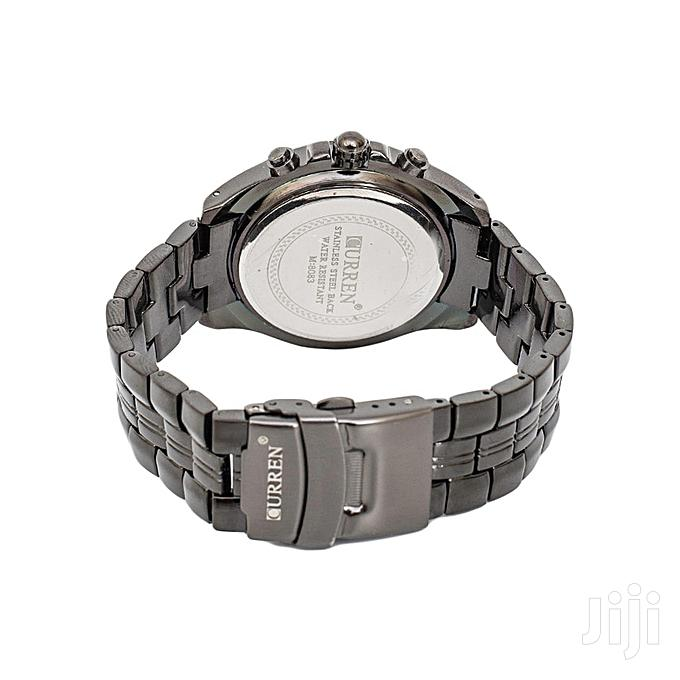 Archive: Curren Black Dial Chronograph Watch