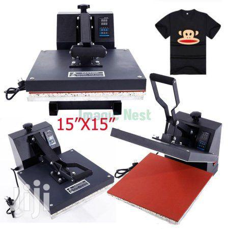 Heat Press Machine For T-shirt Branding
