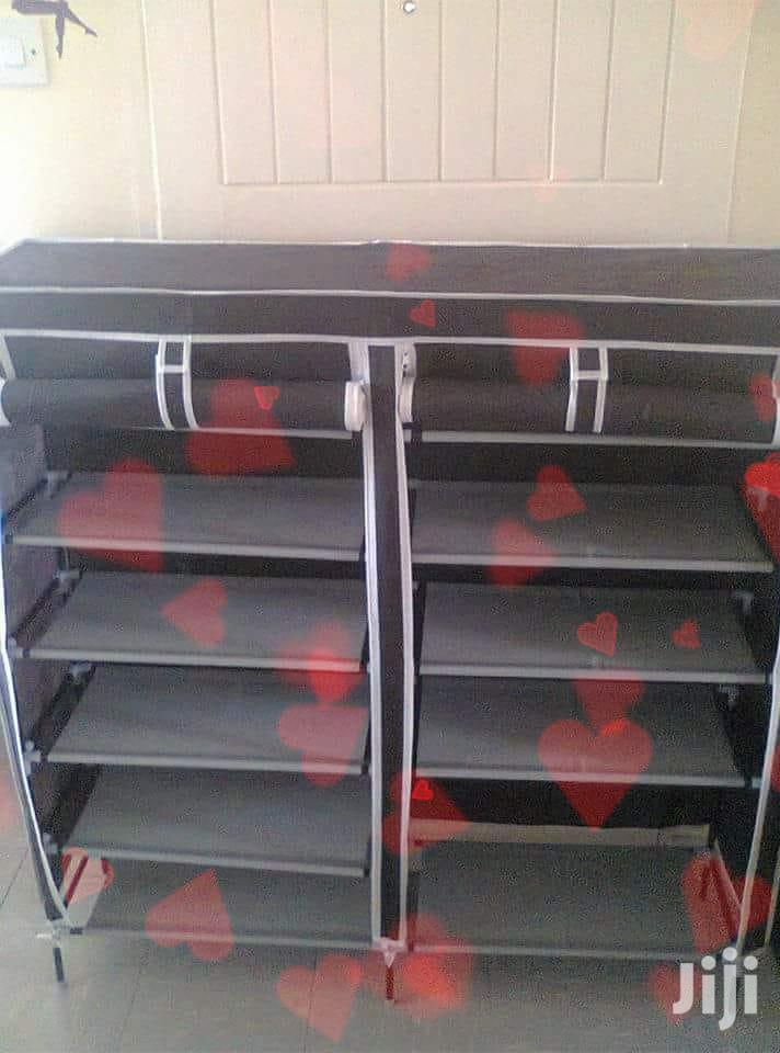 Durable Wooden Frame Shoe Racks Available