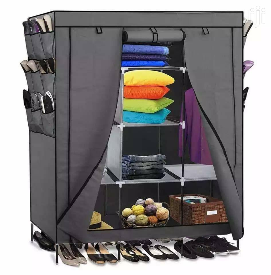 Durable Wooden Frame Portable Wardrobes Available