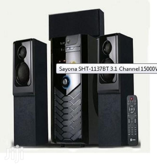 Archive: Sayona SHT-1137BT 3.1 Channel 15000W PMPO Subwoofer
