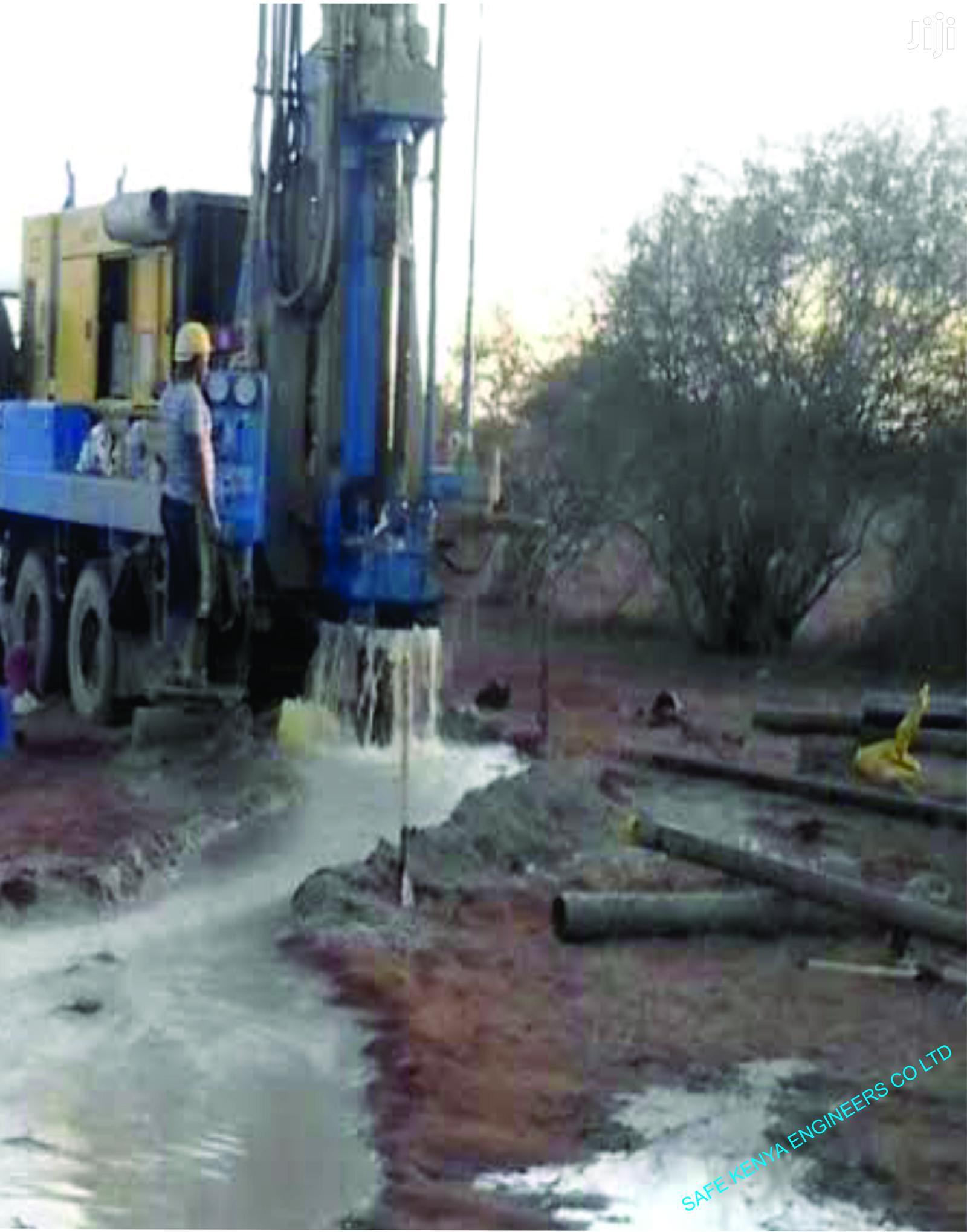 Archive: Borehole Drilling Services