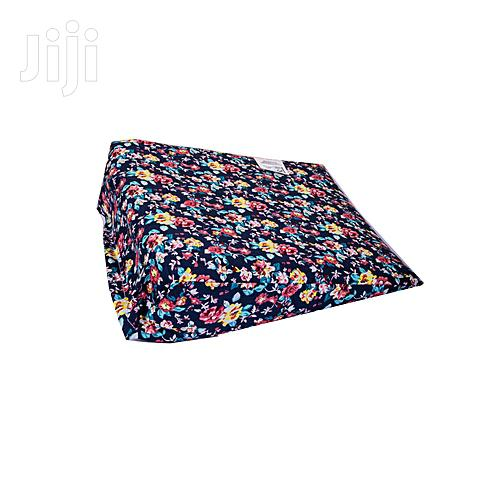 Archive: Baby Banda Navy Blue Cotton Wedge Pillow