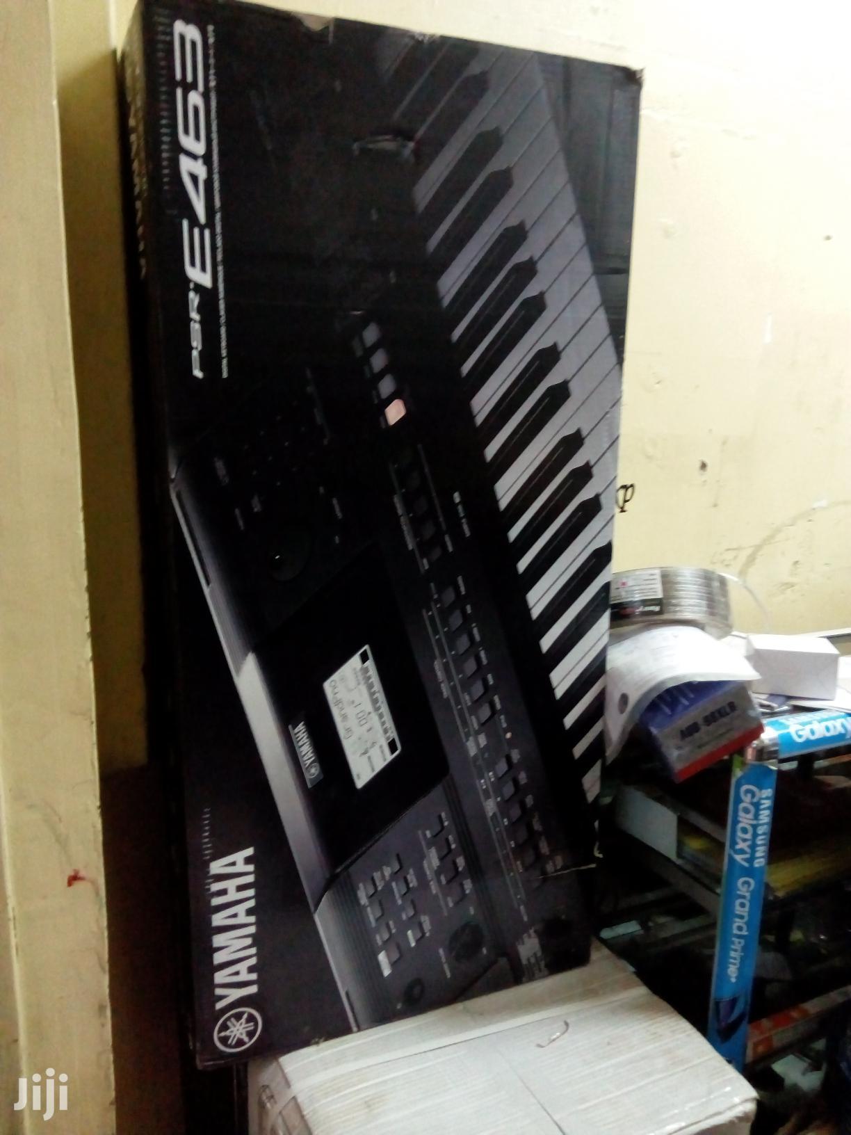 Yamaha Keyboard 463