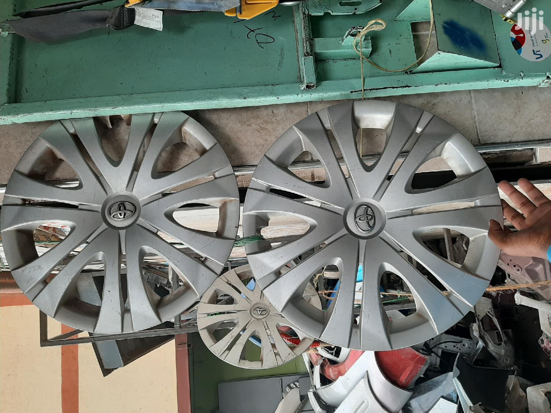 Toyota Wheelcap Size 16 Full Set Auto Car Spare Body Parts