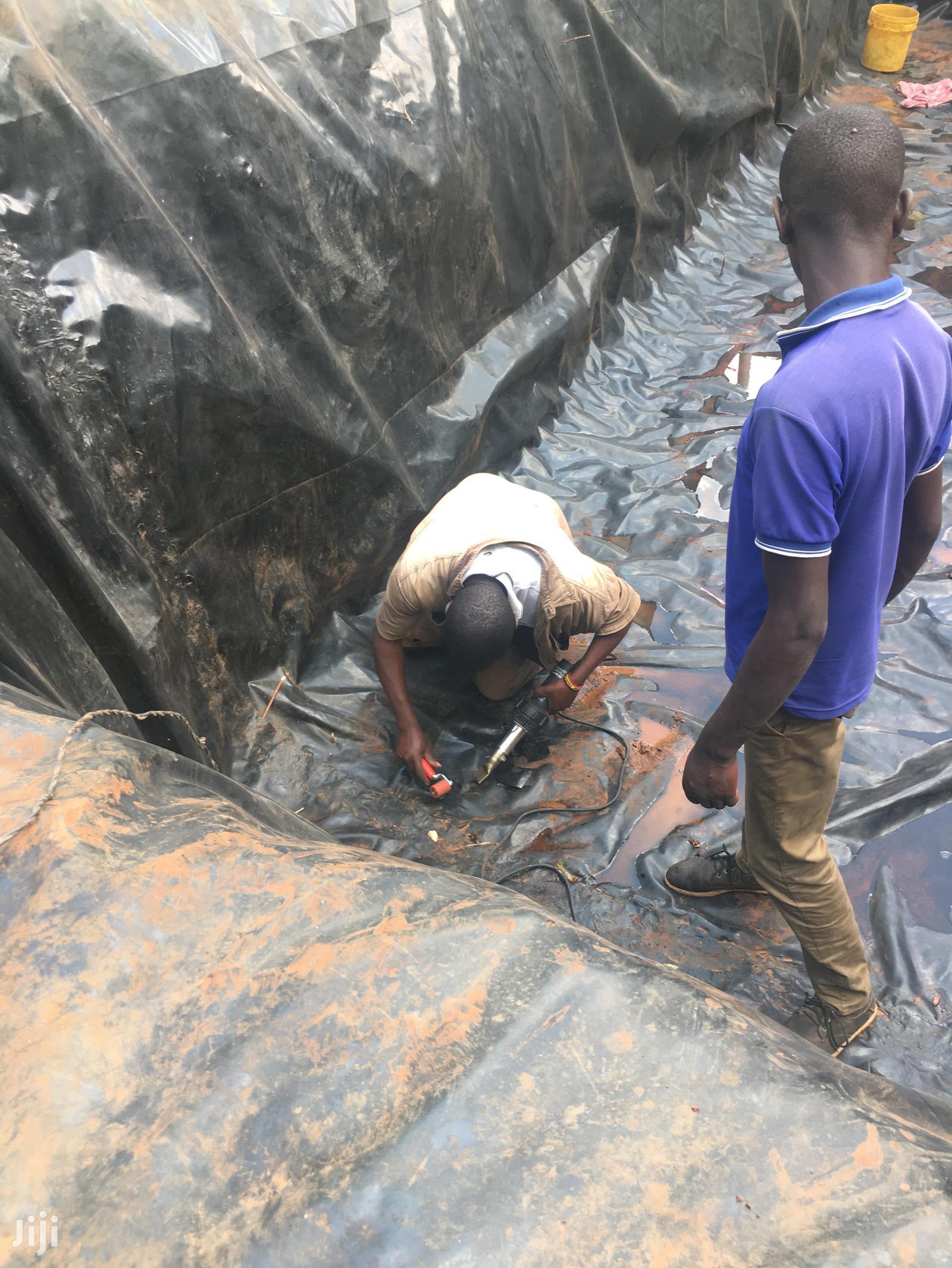 Dam Liner Installation And Repair