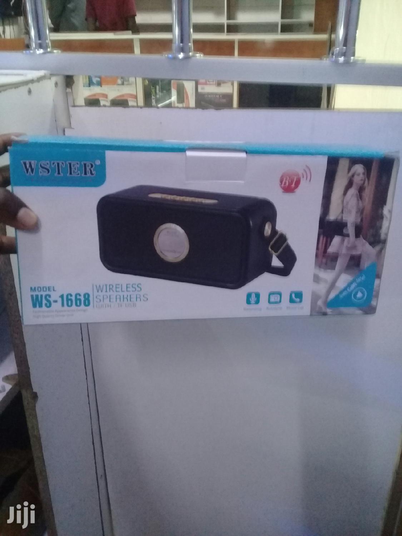 WSTER Wireless Speaker