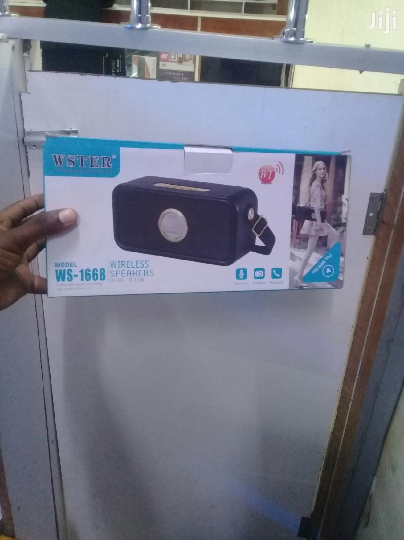 WSTER Wireless Speaker   Audio & Music Equipment for sale in Nairobi Central, Nairobi, Kenya