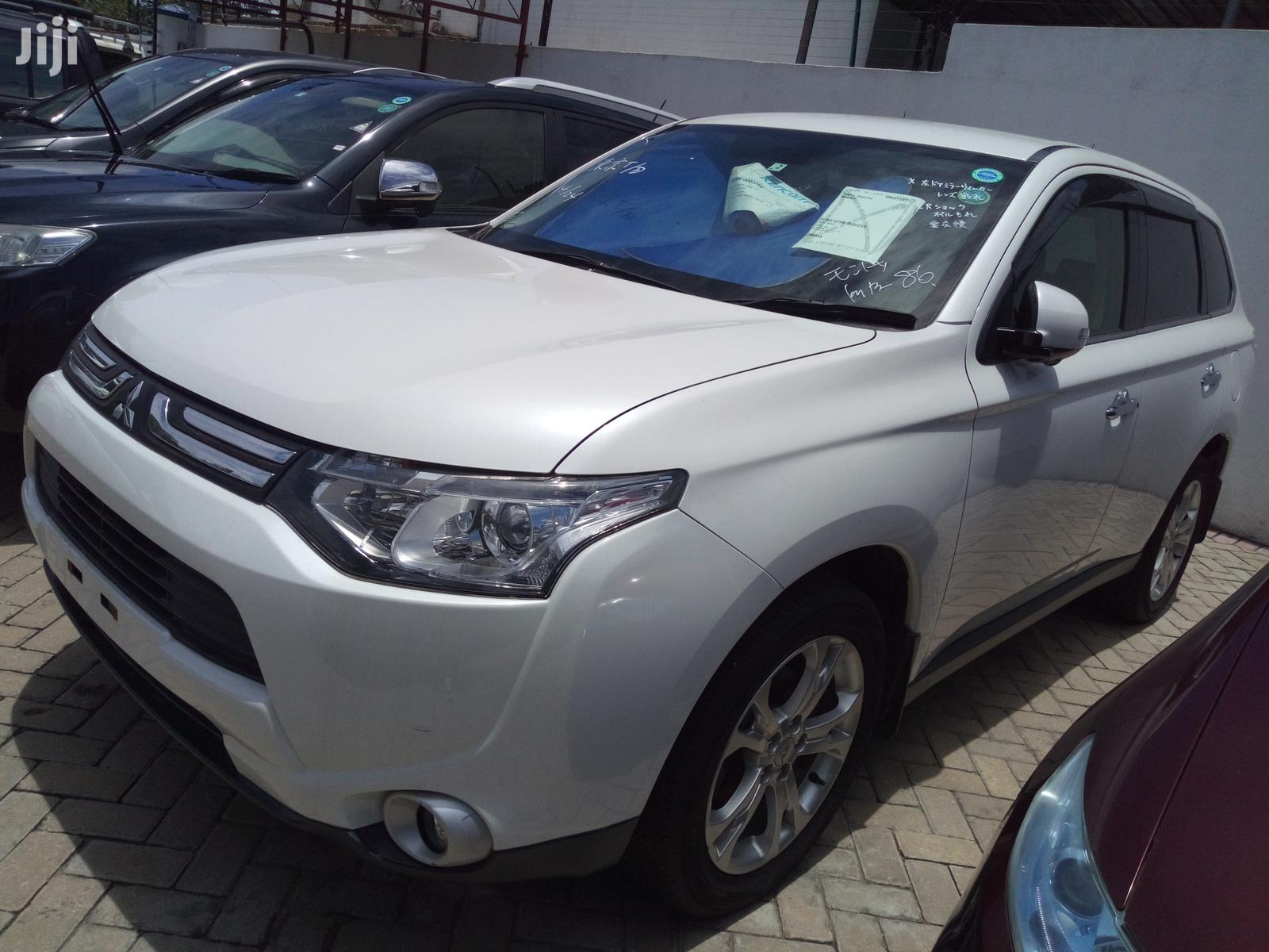 Mitsubishi Outlander 2012 White | Cars for sale in Shimanzi/Ganjoni, Mombasa, Kenya