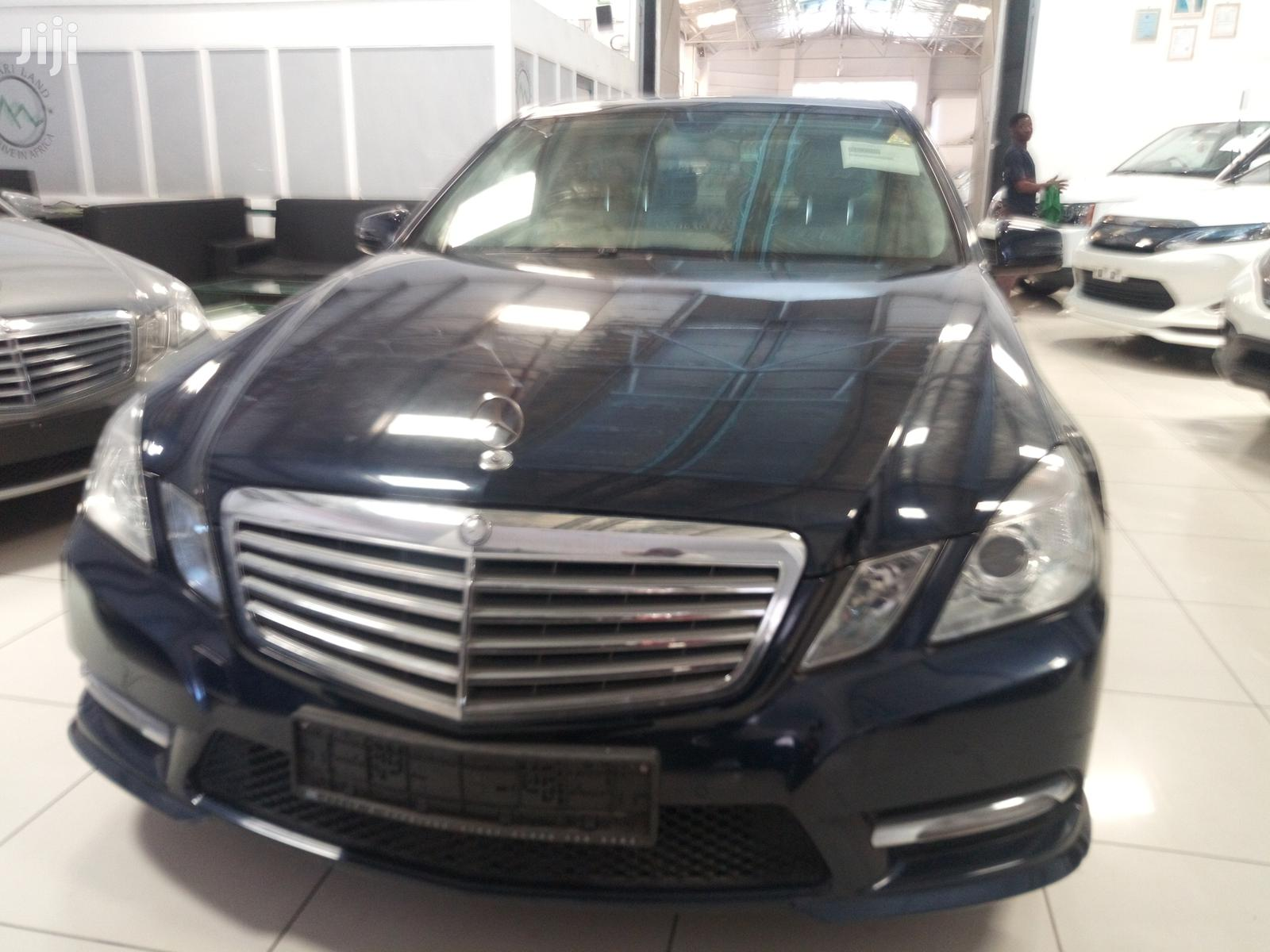Mercedes Benz E250 2012 Black