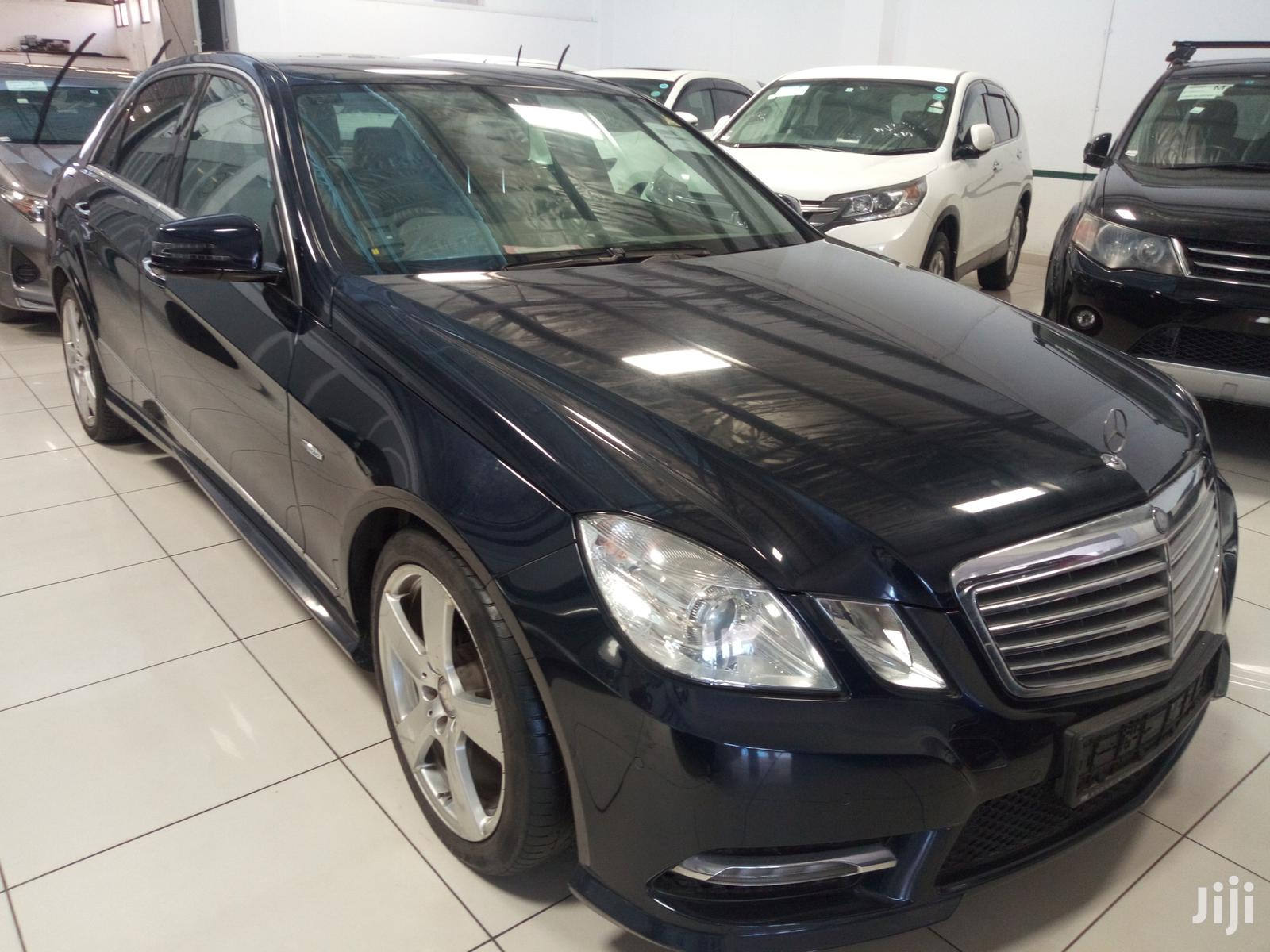 Mercedes Benz E250 2012 Black | Cars for sale in Moi Avenue, Mombasa, Kenya