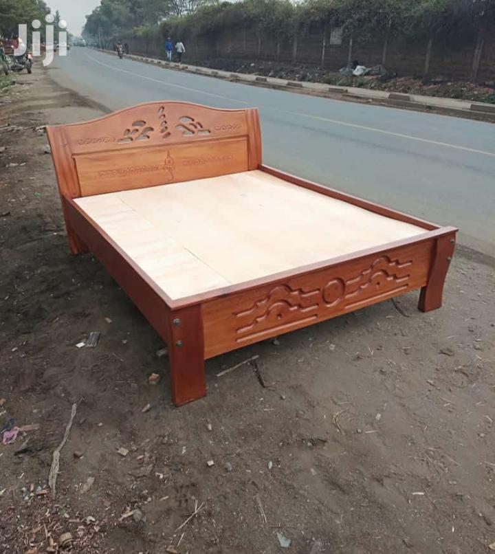 Mahogany Bed 4 *6 Feets